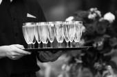 Champaign glasses — Stock Photo