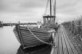 Vintage style boats — Stock Photo