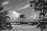 Historical turning bridge — Stock Photo