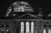 Niemieckiego reichstagu w berlinie — Zdjęcie stockowe
