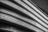 изогнутые деталь здания в берлине — Стоковое фото
