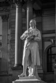фридрих шиллер статуя — Стоковое фото