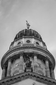 Cupola of the french cathedral — Stock Photo