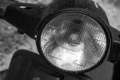 Scooter headlamp — Stock Photo