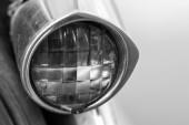 винтаж подсветки автомобиля — Стоковое фото