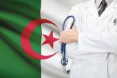 Concept of national healthcare system - Algeria — Stock Photo