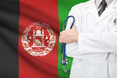 Concept of national healthcare system - Afghanistan — Stock Photo