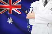 Concept of national healthcare system - Australia — Stock Photo