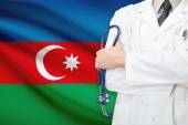 Concept of national healthcare system - Azerbaijan — Stock Photo