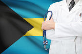 Concept of national healthcare system - Bahamas — Stock Photo