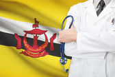 Concept of national healthcare system - Brunei — Stock Photo