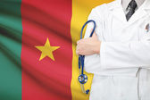 Concept of national healthcare system - Cameroon — Stock Photo
