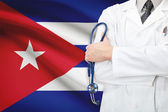 Concept of national healthcare system - Cuba — Stock Photo