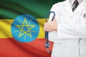Concept of national healthcare system - Ethiopia — Stock Photo