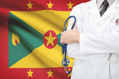 Concept of national healthcare system - Grenada — Stock Photo