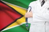 Concetto di sistema sanitario nazionale - guyana — Foto Stock