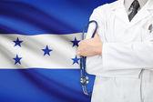 Begreppet nationella hälsovårdssystem - honduras — Stockfoto