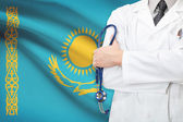 Concept of national healthcare system - Kazakhstan — Stock Photo