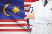 Concept of national healthcare system - Malaysia — Stock Photo