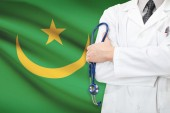 Concept of national healthcare system - Mauritania — Stock Photo