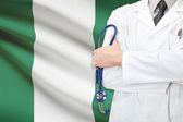 Concept of national healthcare system - Nigeria — Stock Photo