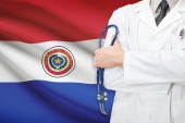 Concept of national healthcare system - Paraguay — Stock Photo