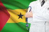 Begreppet nationella hälsovårdssystem - sao tome och principe — Stockfoto