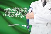 Concept of national healthcare system - Saudi Arabia — Stock Photo