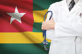 Concept of national healthcare system - Togo — Stock Photo