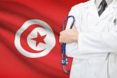 Concept of national healthcare system - Tunisia — Stock Photo