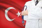 Concept of national healthcare system - Turkey — Stock Photo