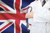 Concept of national healthcare system - United Kingdom — Stock Photo