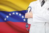 Concept of national healthcare system - Venezuela — Stock Photo