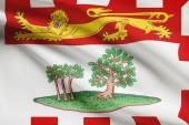 Canadian provinces flags series - Prince Edward Island — Stock Photo