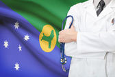 Concept of national healthcare system - Christmas Island — Stock Photo