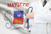 Concept of national healthcare system - Mayotte — Foto de Stock