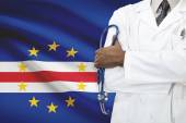 Concept of national healthcare system - Cape Verde — Stock Photo