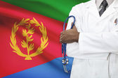 Concept of national healthcare system - Eritrea — Stock Photo