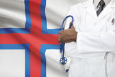 Concept of national healthcare system - Faroe Islands — Stock Photo