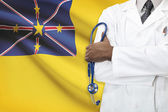 Concept of national healthcare system - Niue — Stock Photo