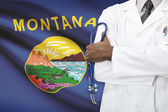 Concept of national healthcare system - Montana — Stock Photo