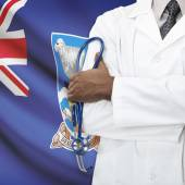 Concept of national healthcare series - Falkland Islands — Stock Photo