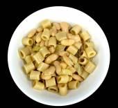 Pasta and bean soup — Stok fotoğraf
