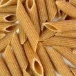 Whole wheat penne rigate pasta — Stock Photo #70426313