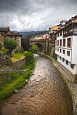 Potes in Cantabria — Foto Stock
