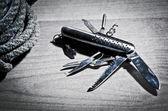 Swiss knife — Stock Photo