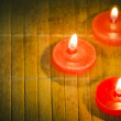 Red candle. — Stock Photo #64065107
