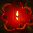 Red candle. — Stock Photo #64068067