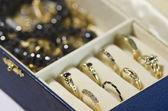 Jewelry box — Stock Photo