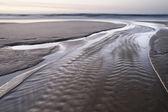 Sunset on atlantic coast — Stock Photo